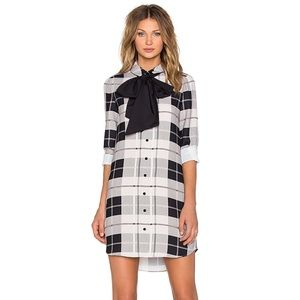 New! KATE SPADE | Woodland Plaid Griffin Dress 8